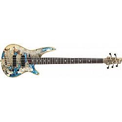 IBANEZ JCSR2021-NTL j.custom E-Bass 5 String Natural Low Gloss + Case
