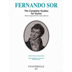 Fernando Sor - Complete studies in urtext (Savino/Ophee)