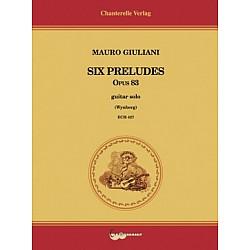 Mauro Giuliani - 6 Preludes Op.83