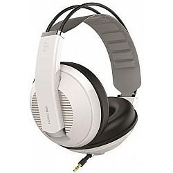 Superlux HD-662EVO White - uzavreté štúdiové slúchadlá