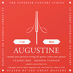 Augustine Classic Red, medium tension - struny na klasickú gitaru