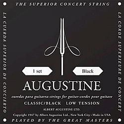 Augustine Classic Black, low tension - struny na klasickú gitaru