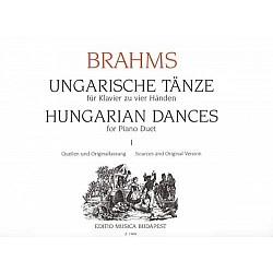 Brahms, Johannes - Hungarian Dances for piano duet