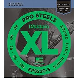 D´Addario EPS220-5 40/125 PRO STEELS struny na 5-strun. basu