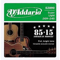 D´Addario EZ890 - Struny pre akustickú gitaru