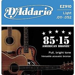 D´Addario EZ910 struny pre akustickú gitaru