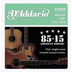 D´Addario EZ920 - Struny na akustickú gitaru, 012/ 054
