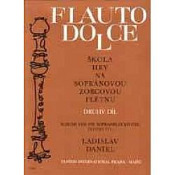 Daniel, Ladislav - Škola hry na sopránovú zobcovú flautu II.
