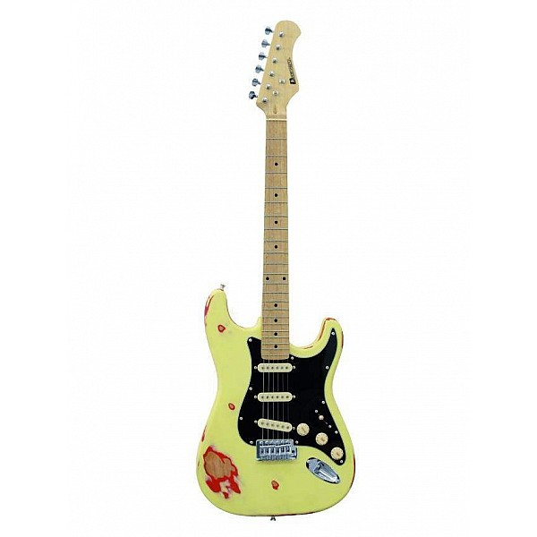 Dimavery ST-303 vintage creme - Elektrická gitara