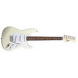 Fender Squier Bullet Strat SSS-RW arctic white - Elektrická gitara