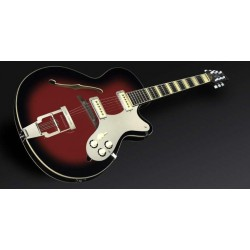Framus Vintage 5/120 Billy Lorento Jazz Guitar, Blackrose