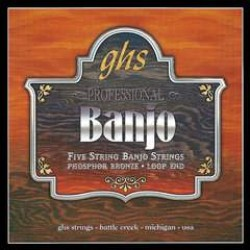 GHS PF130 Struny pre 5-strunové banjo 011/010