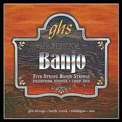 GHS PF150 Struny pre 5-strunové banjo 010/010
