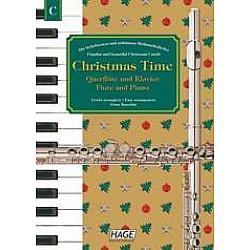 HAGE Christmas Time-Čas vianoc pre priečnu flautu a klavír