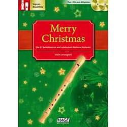 HAGE Merry christmas - Vianočné melódie, zobcová flauta (EH1080)