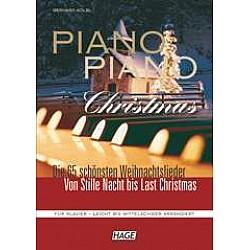 HAGE Piano Piano Christmas - Najpopulárnejšie vianočné skladby