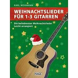 HAGE Vianočné piesne pre 1 - 3 gitary (EH 1074)