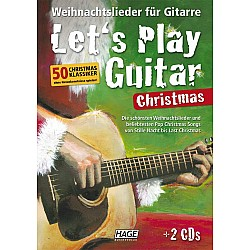 Hage - Let's Play Guitar - Christmas (EH3799)
