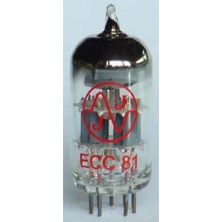 JJ Electronic ECC81 / 12AT7 - elektrónka do predzosilňovača