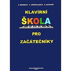 Bohmová, Grunfeldová, Sarauer: Klavírní Škola Pro Začátečníky