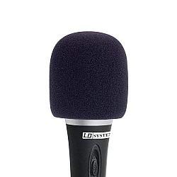 LD Systems - Windschutz na mikrofón,čierny