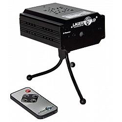 Laserworld EL-100RG - Micro laser s IR diaľkovým ovládaním