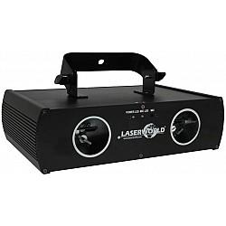 Laserworld EL-D100G - Laser pre párty a diskotéky, zelený