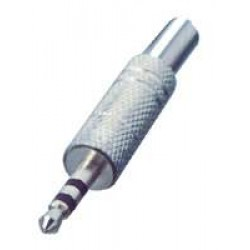 M-Cables konektor jack 3,5 mm stereo , kovový, CR