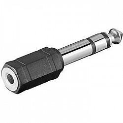M-Cables redukcia - Jack 3,5 mm, stereo/ Jack 6,3 mm, stereo