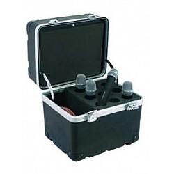 M-Cases Flightcase 9 - Kufrík pre 9 mikrofónov