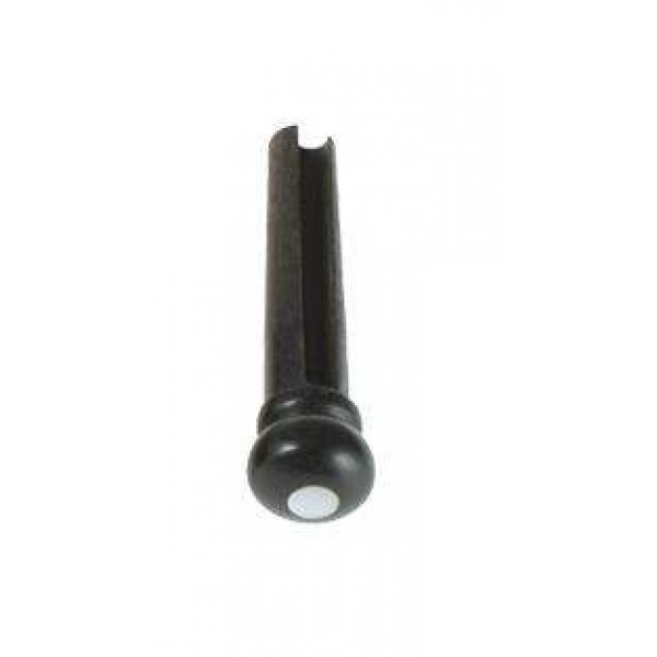 M- Parts - Ebenový kolíček s perlovým očkom ( bridgepin )