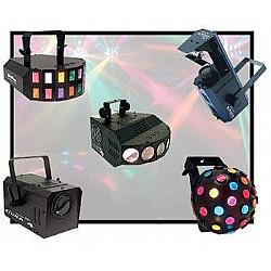 DJ a divadelné svetlá