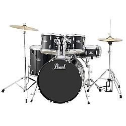 Pearl Roadshow - sada bicích  s činelmi a stoličkou