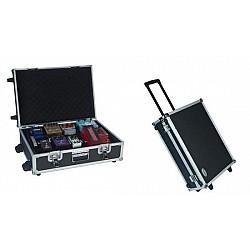 Rockcase RC 23050 B - Pedalboard, tvrdý kufor s kolieskami