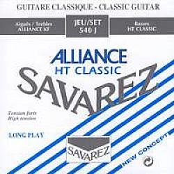 Savarez Alliance HT classic 540 J-Struny pre klasickú gitaru