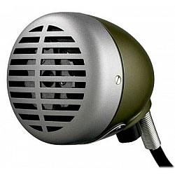 """Shure 520 DX  """"Green Bullet"""" - mikrofón pre ústnu harmoniku"""