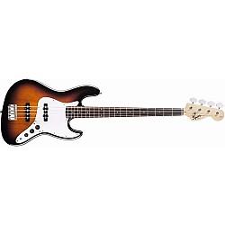 Fender Squier Affinity Series™ Jazz Bass® Brown Sunburst