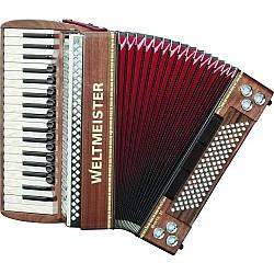 Weltmeister Monte 37 Folkloristický akordeón