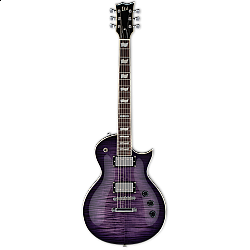 ESP LTD EC-256FM SEE THRU PURPLE SUNBURST