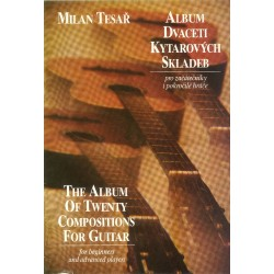 Milan Tesař - Album 20 gitarových skladieb