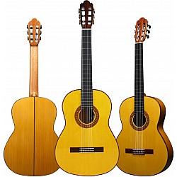 Milestones of Music La Flamenca 1A Bianca - flamenco gitara