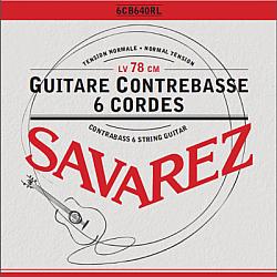 Savarez 6CB640RL - struny pre kontrabasovú klasickú gitaru