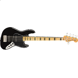 Fender Squier Classic Vibe '70s Jazz Bass® V, Maple Fingerboard, Black