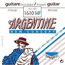 Savarez Argentine 1610MF Ball End - Struny pre gypsy jazz gitaru