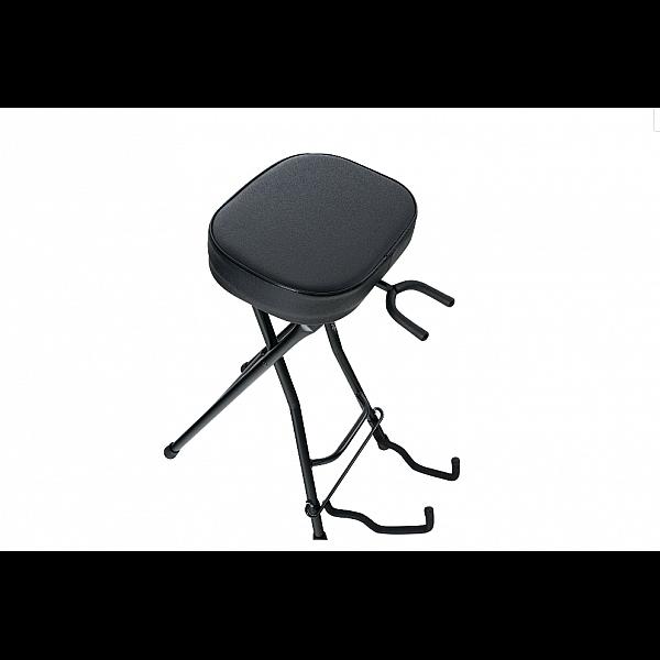 Rocktile gitarová stolička so stojanom na gitaru / basgitaru