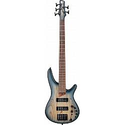Ibanez SR605E-CTF - SR-Series E-Bass 5 String - Cosmic Blue Starburst Flat