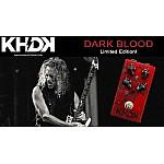KHDK Electronics Dark Blood, Limited Edition - gitarový distortion efekt