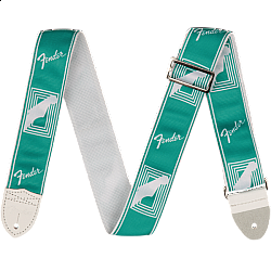 "Fender 2"" Custom Color Monogrammed Straps - Sea Foam Green - pás na gitaru"