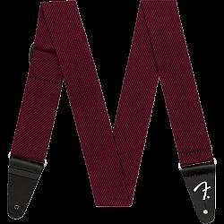 """Fender 2"""" Modern Tweed Strap - Black / Red - pás na gitaru"""