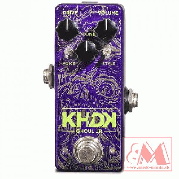 KHDK Ghoul Jr. - gitarový overdrive efekt